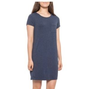 NWT C&C California Tee Shirt Dress Navy Blue Sz M